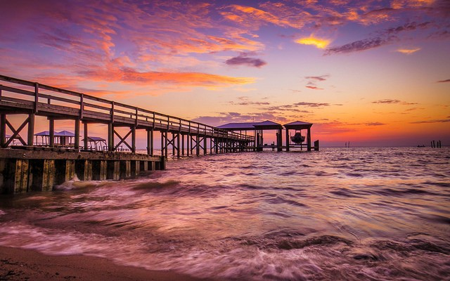 Mobile Bay Sunset AL