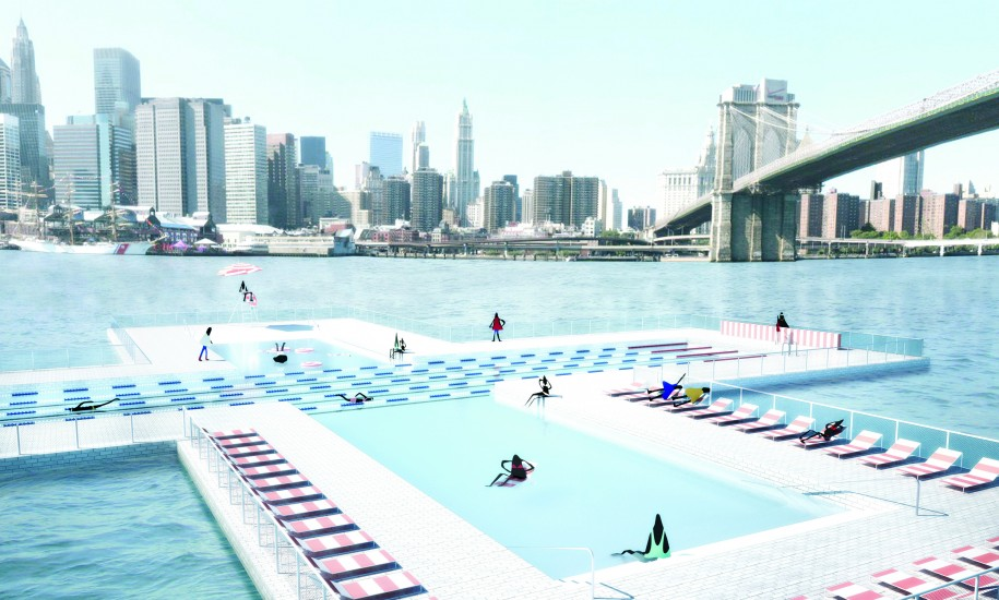 Plus Pool in New York