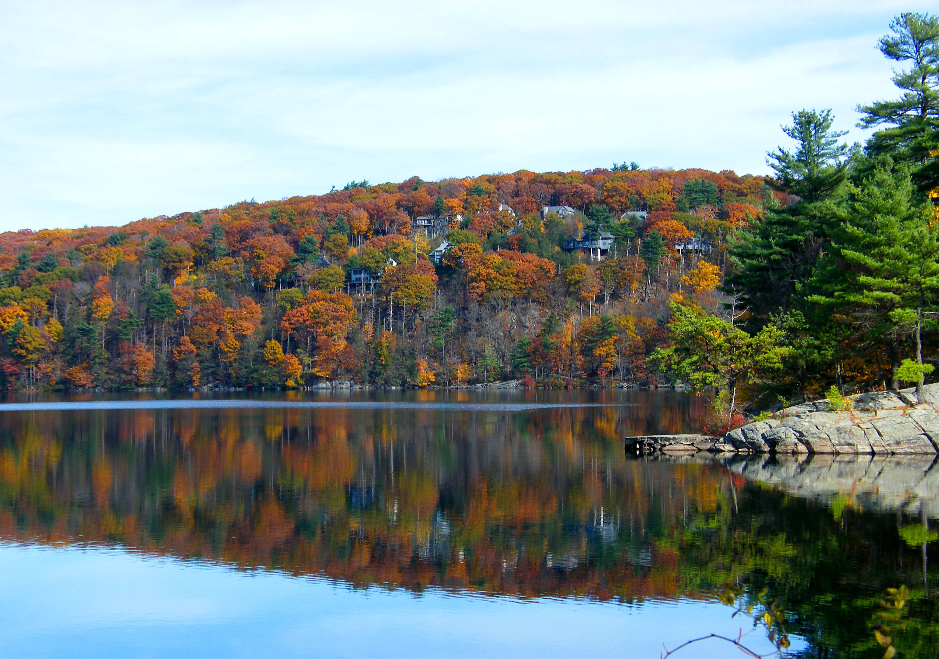 fall colours, autumn, water safety