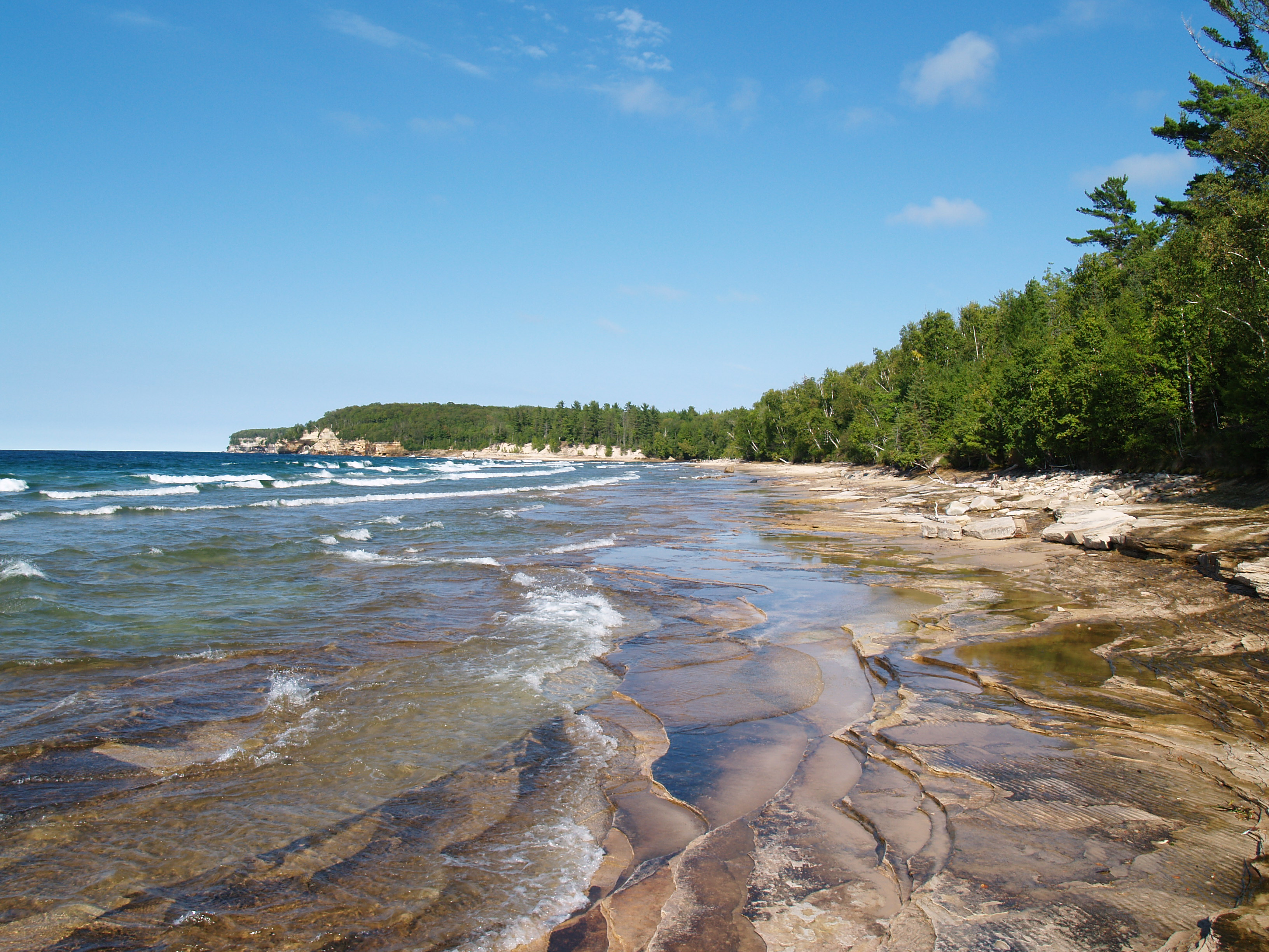 Great Lakes Beaches, Lake Superior, Water quality
