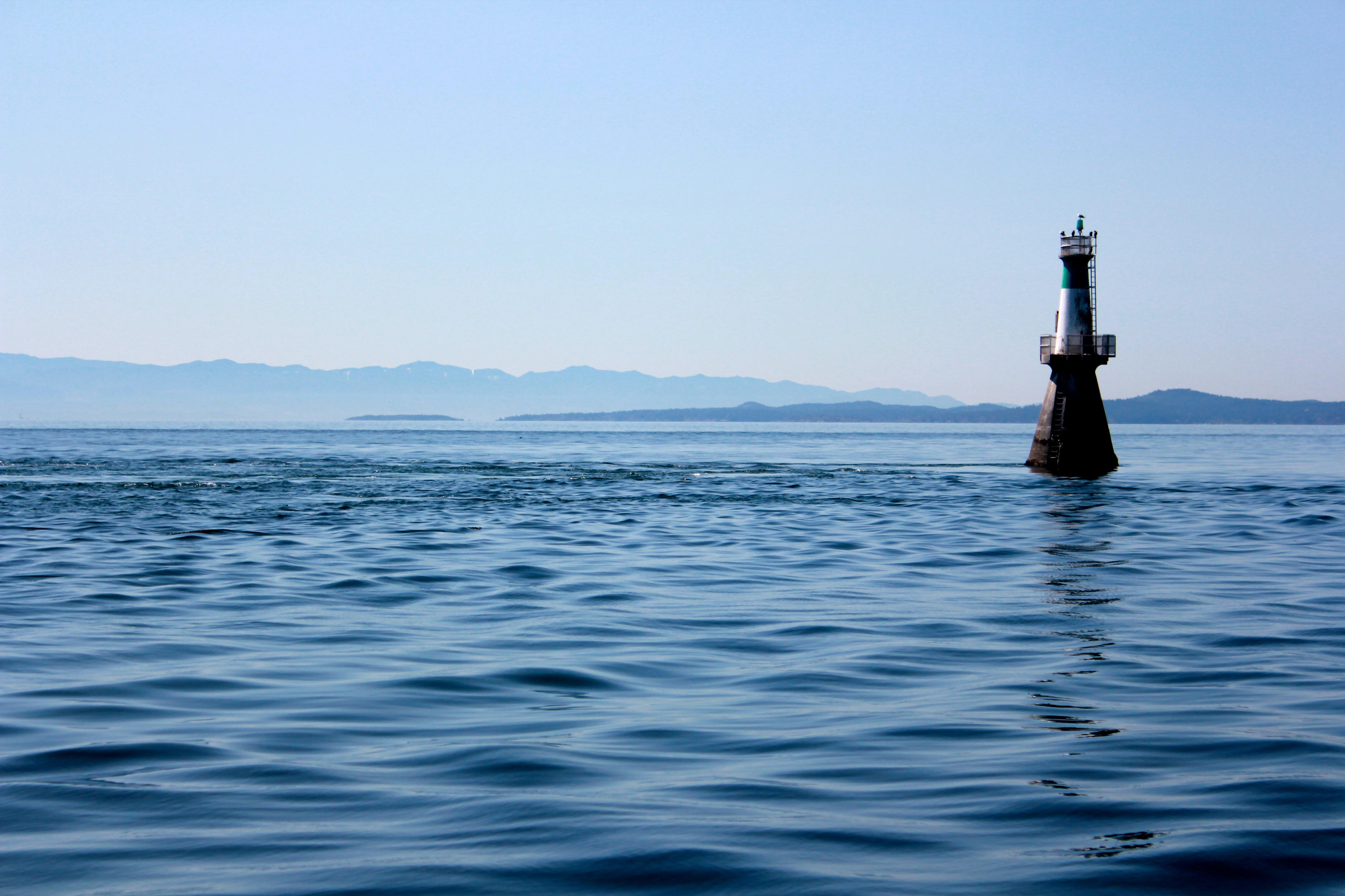 Ocean Pier off the coast of Vancouver Island