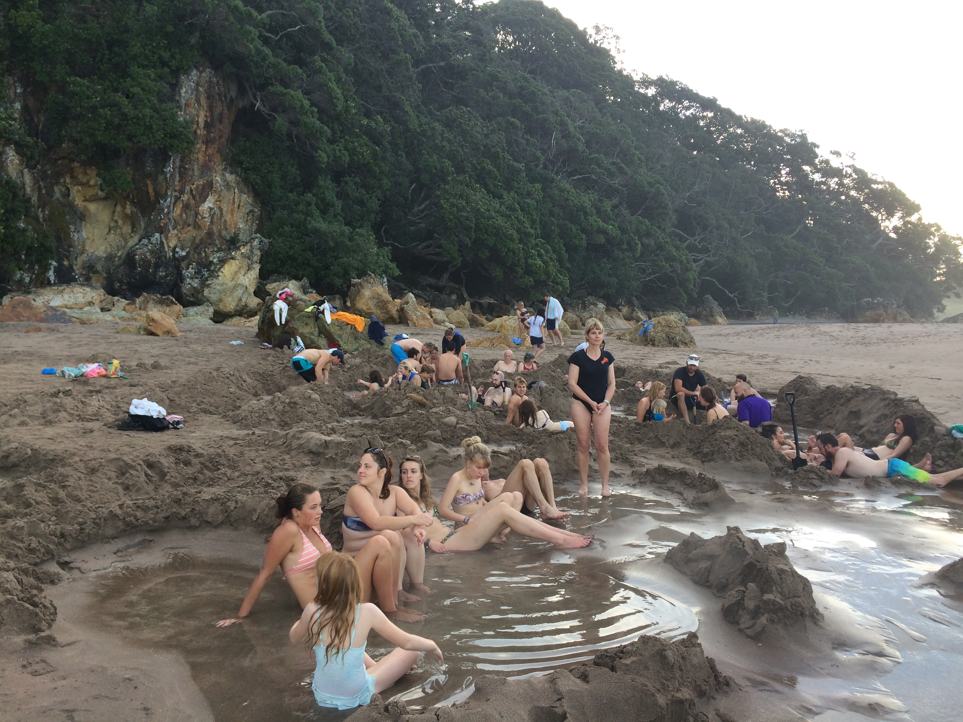 Hot Water Beach New Zealand